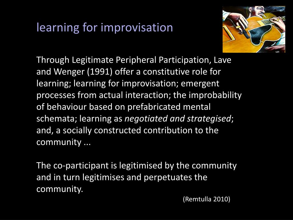 learning for improvisation