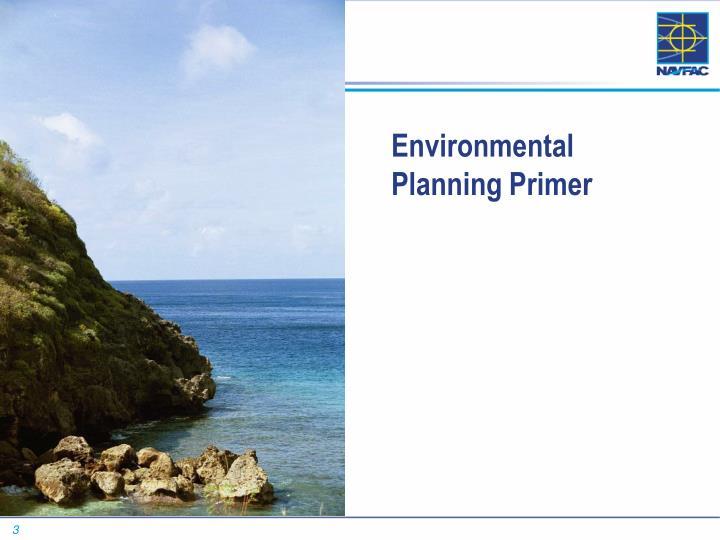 Environmental planning primer