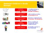 national children s study sample