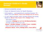 national children s study sample9
