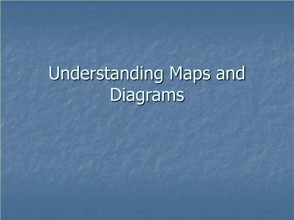 understanding maps and diagrams l.