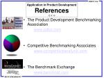 application in product development references 2 of 4