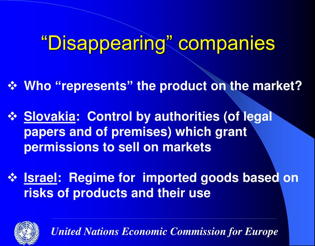 """""""Disappearing"""" companies"""