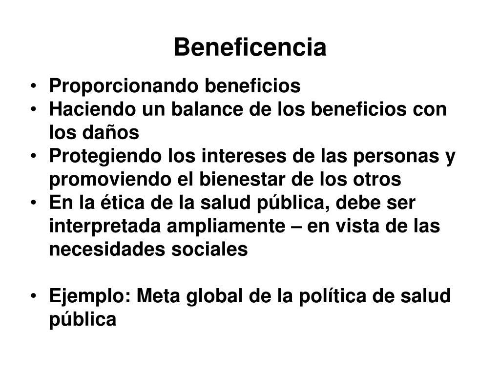 Beneficencia
