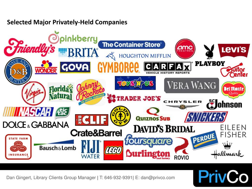 Selected Major Privately-Held Companies