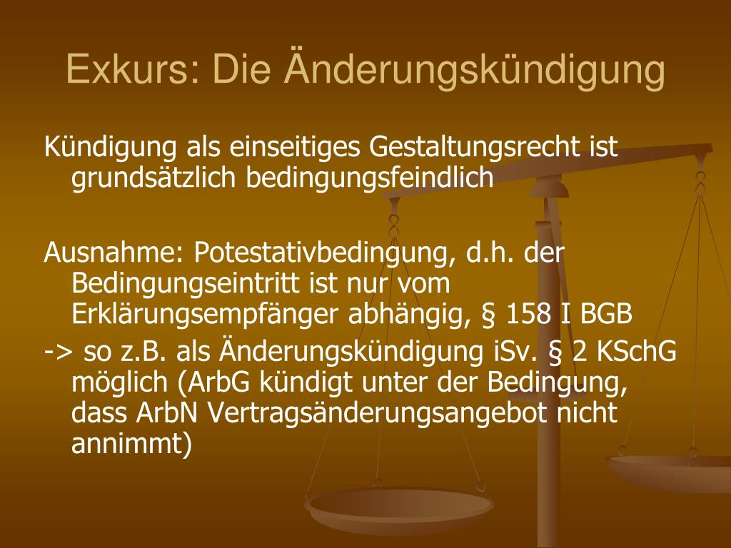 PPT   II. Teil Individualarbeitsrecht PowerPoint Presentation ...