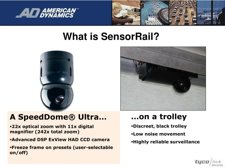 What is SensorRail?