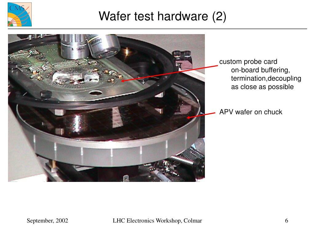 Wafer test hardware (2)