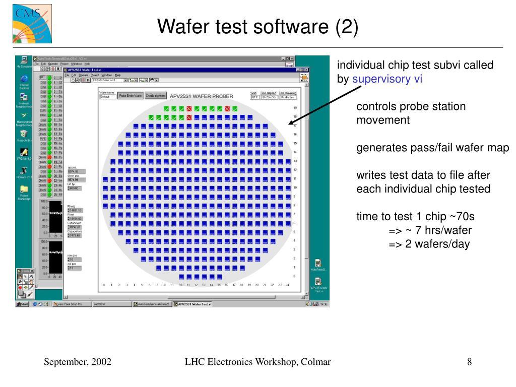 Wafer test software (2)