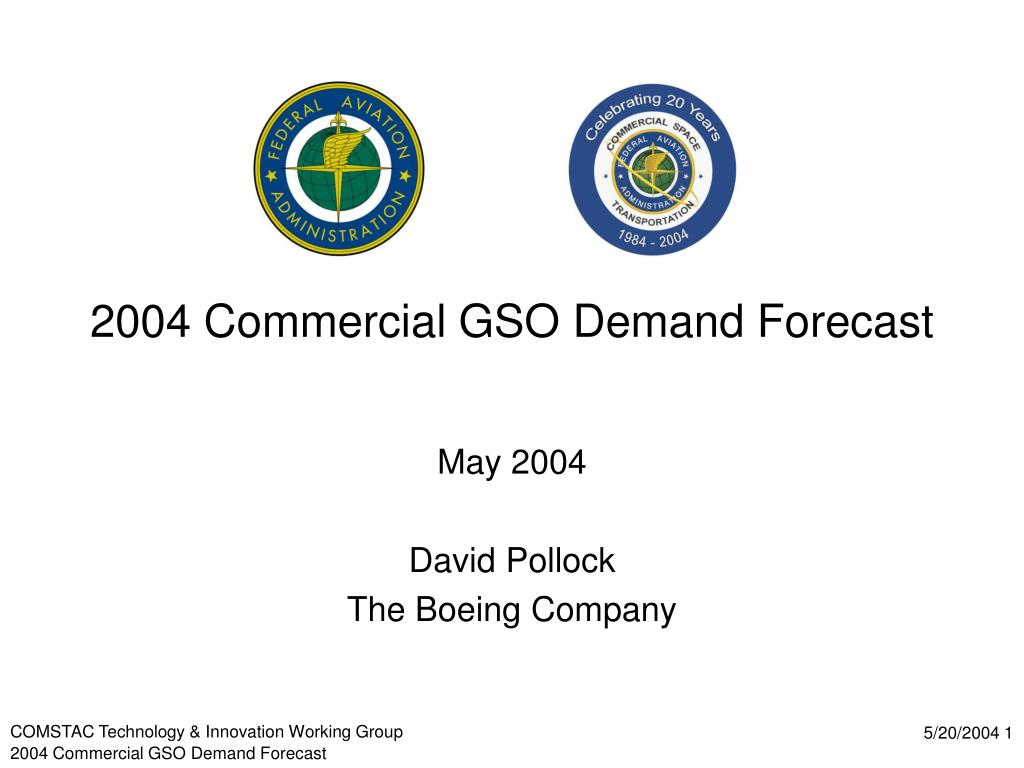 2004 commercial gso demand forecast l.
