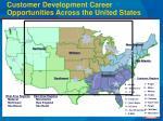 customer development career opportunities across the united states