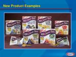 new product examples