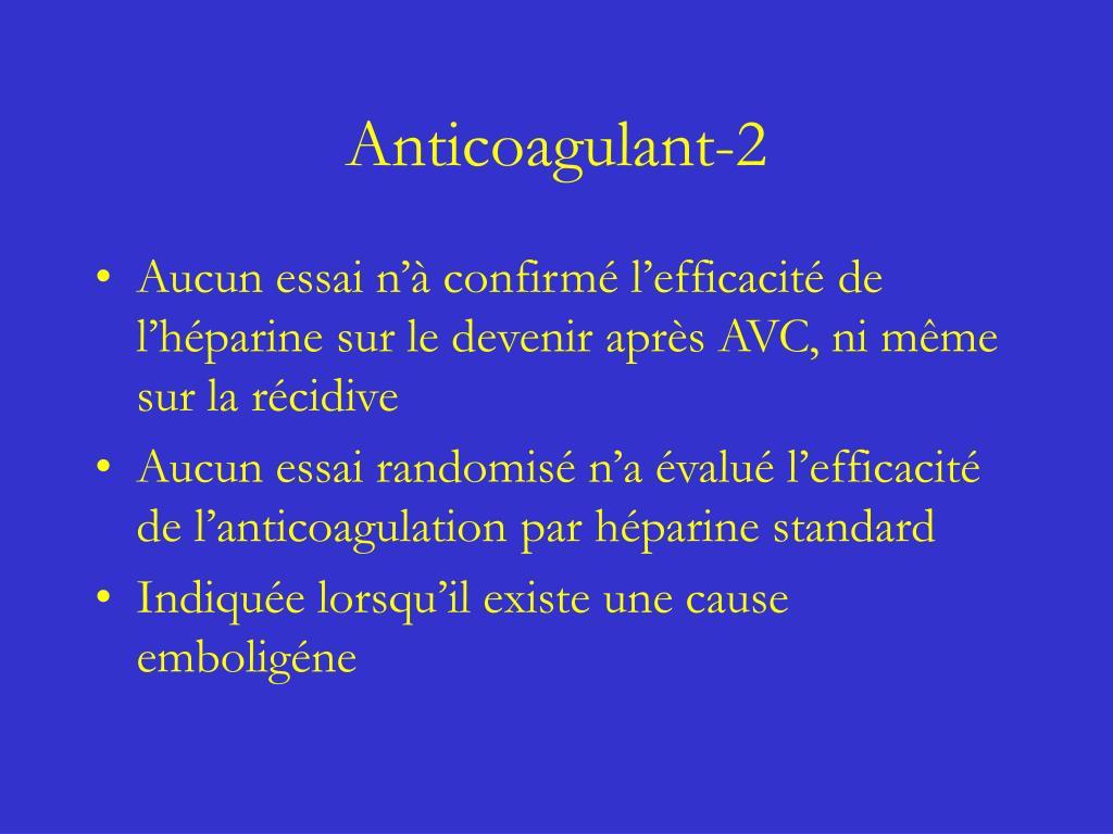 Anticoagulant-2