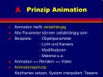 a prinzip animation