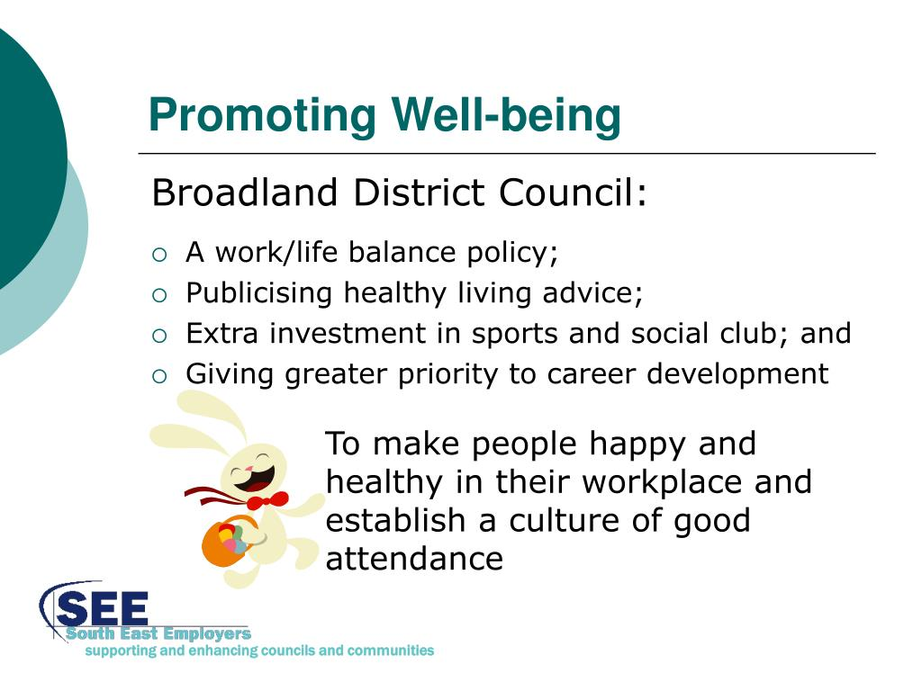 Promoting Well-being