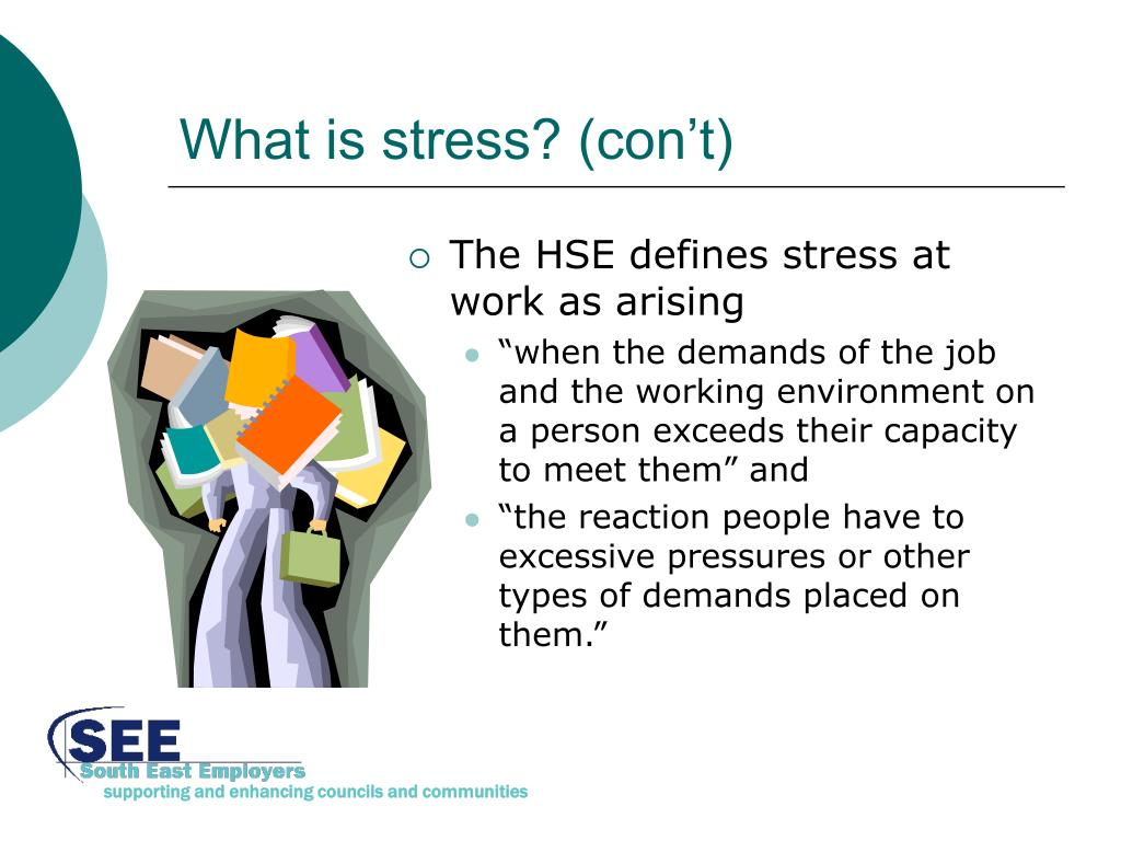 What is stress? (con't)