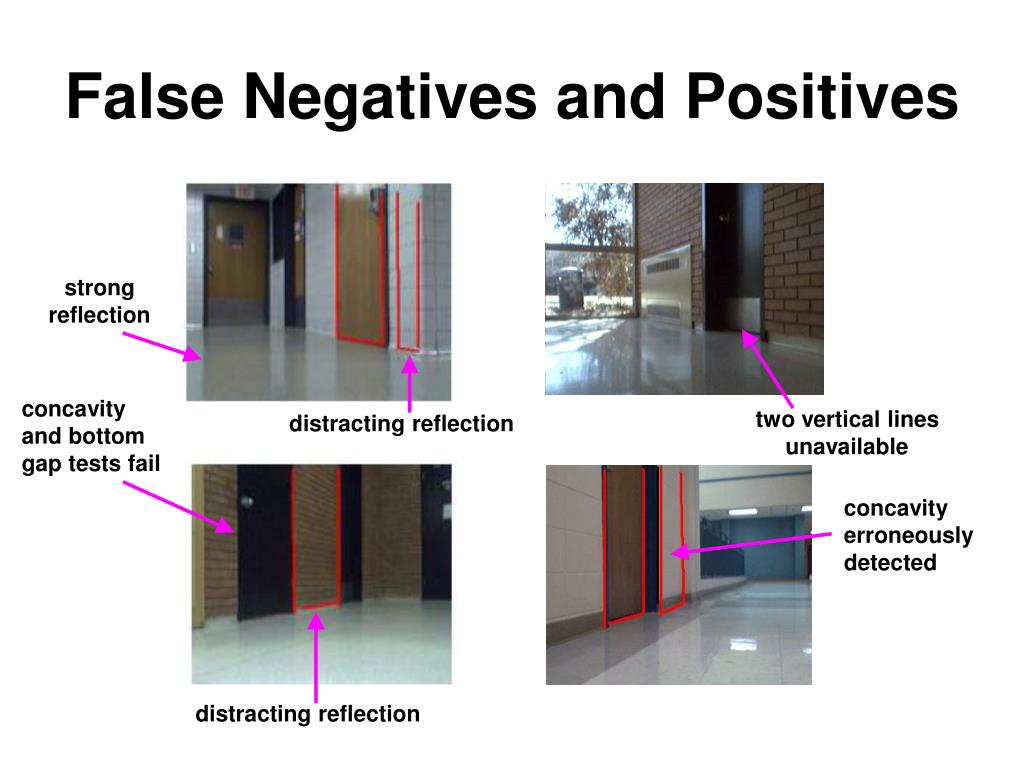 False Negatives and Positives