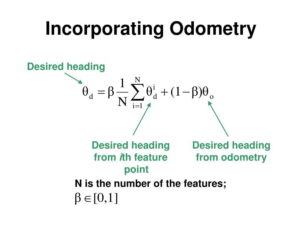 Incorporating Odometry