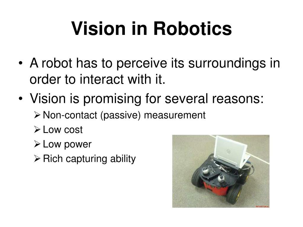 Vision in Robotics