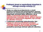 predlagani ukrepi za zagotavljanje integritete in eti nega ravnanja revizorja 1