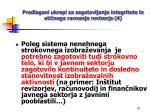 predlagani ukrepi za zagotavljanje integritete in eti nega ravnanja revizorja 4