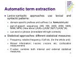 automatic term extraction50