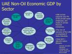 uae non oil economic gdp by sector