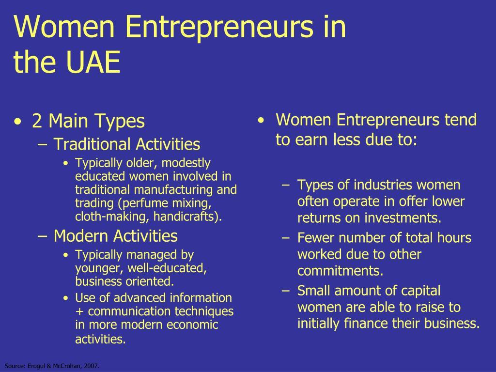 women entrepreneurs in the uae