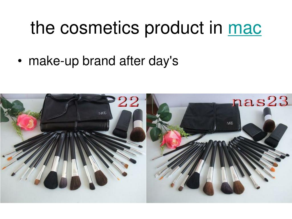 the cosmetics product in mac l.