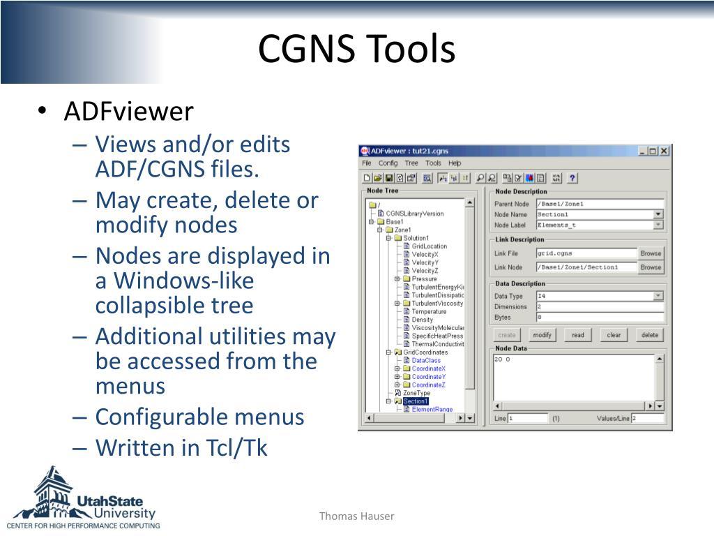 CGNS Tools