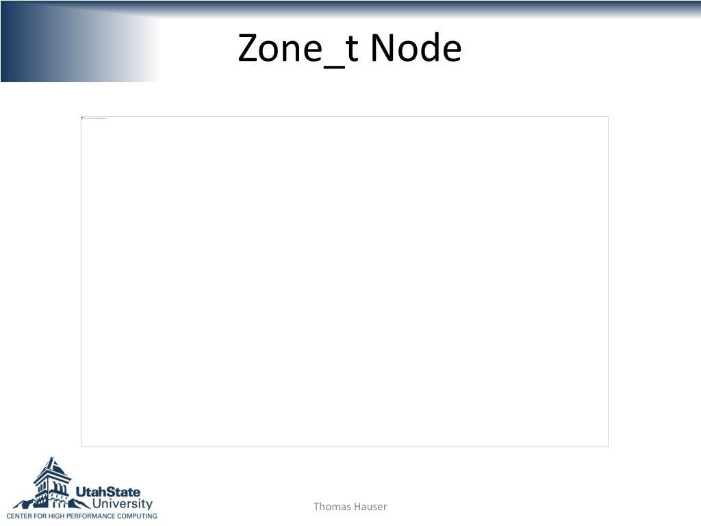 Zone_t Node