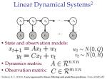 linear dynamical systems 2