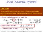 linear dynamical systems 211
