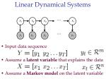linear dynamical systems9