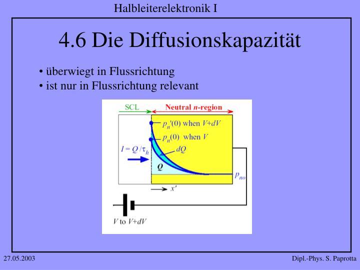4.6 Die Diffusionskapazität