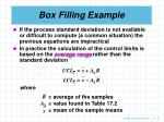 box filling example21