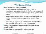 why earned value