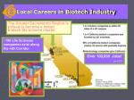 local careers in biotech industry