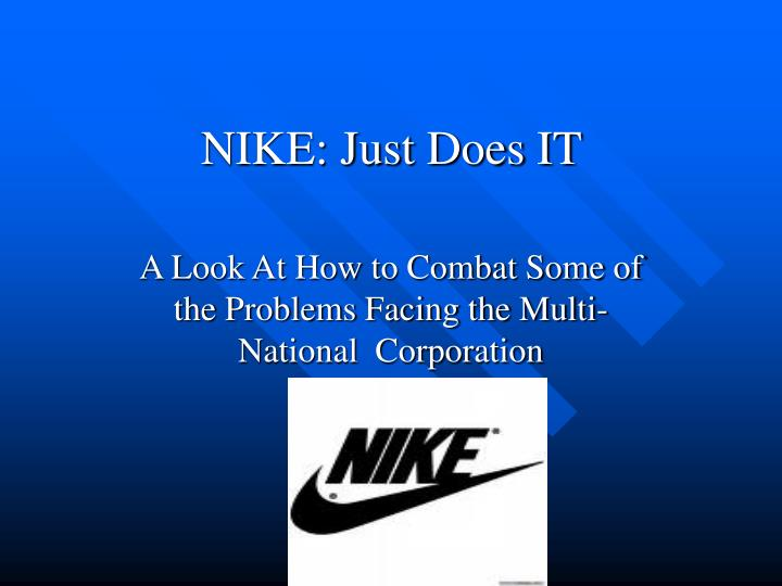 nike just does it n.