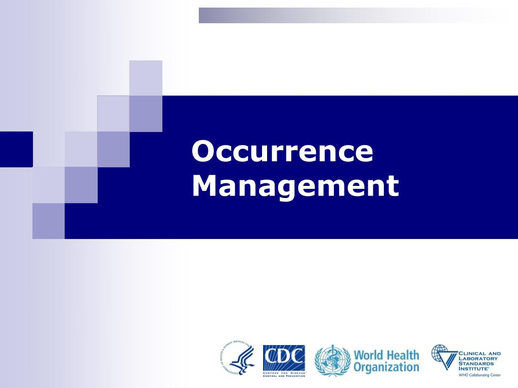 occurrence management l.