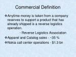 commercial definition