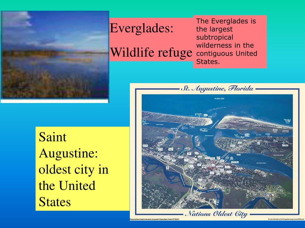 The Everglades is the largest subtropical wilderness in the contiguous United States.
