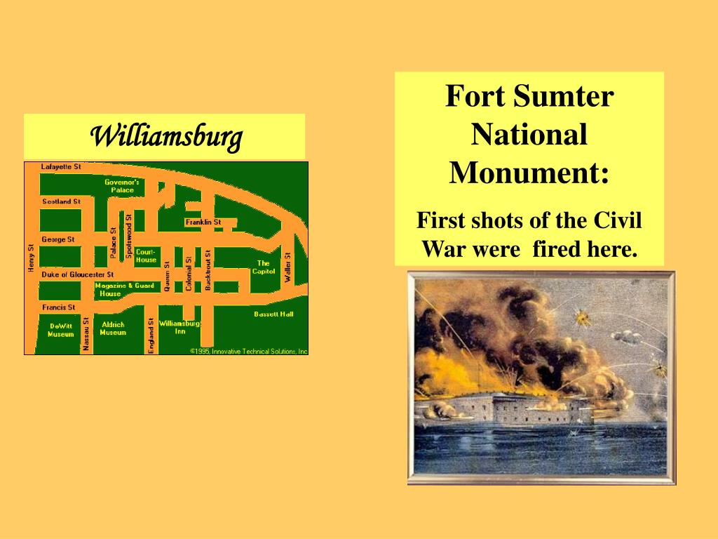 Fort Sumter National Monument: