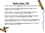 books about tbi
