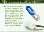 overlooking internal hyperlinks