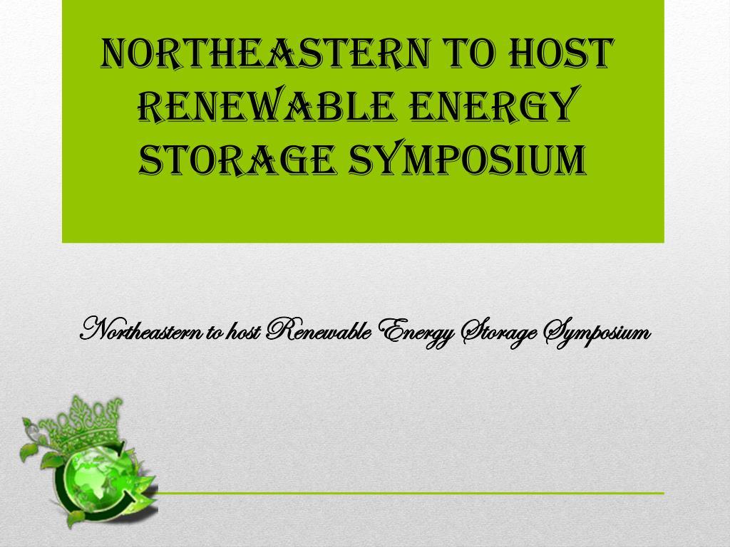 Northeastern to host