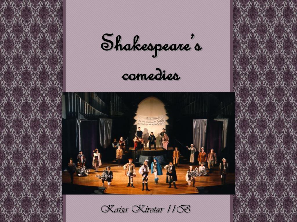 shakespeare s comedies l.