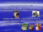 2 9 match types of family structures with components of each cont