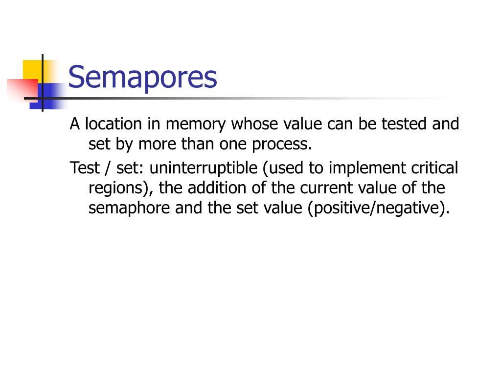 Semapores