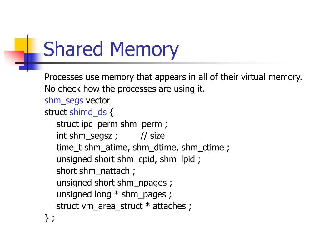 Shared Memory